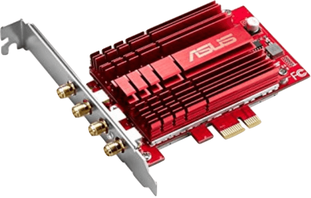 ASUS PCE-AC88 AC3100 PCIe WIFI Adapter