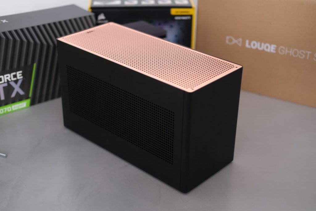 LOUQE Ghost S1 with Copper Top Hat