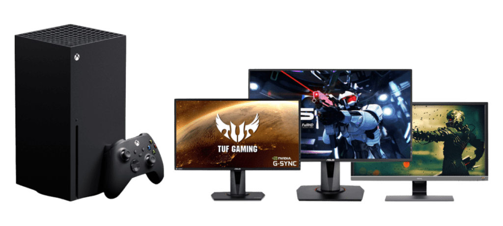 best monitors for xbox series x